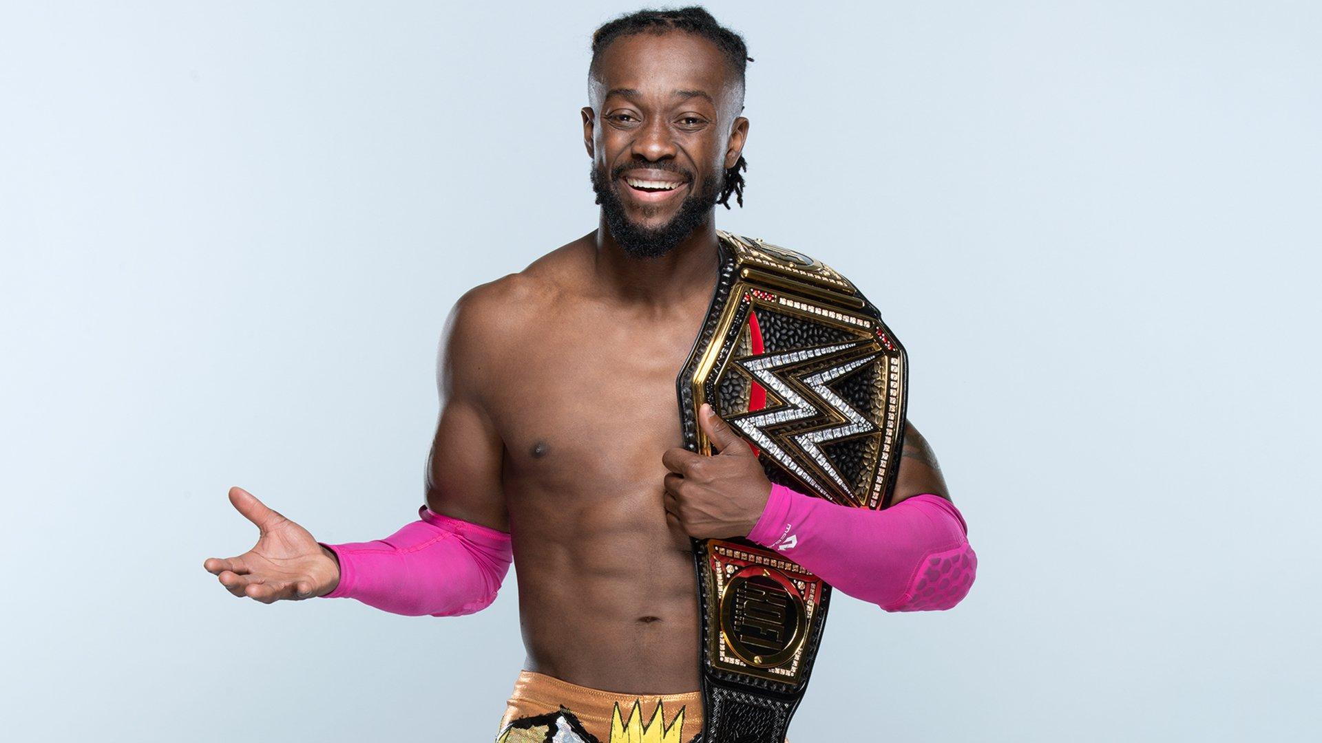 Resultado de imagen para kofi kingston WWE champion
