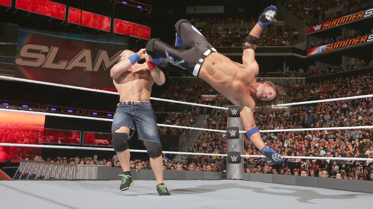 John Cena vs. AJ Styles: fotos   WWE