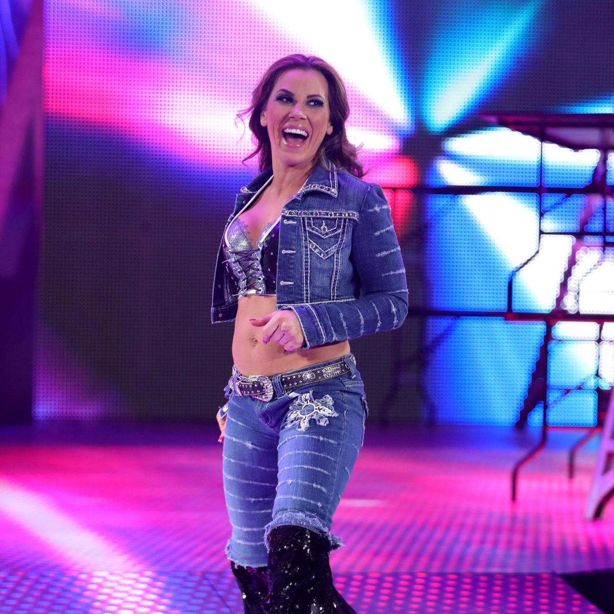 Mickie james nice looking matchless message
