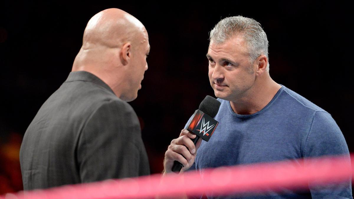 """Under siege,"" Shane tells Angle."