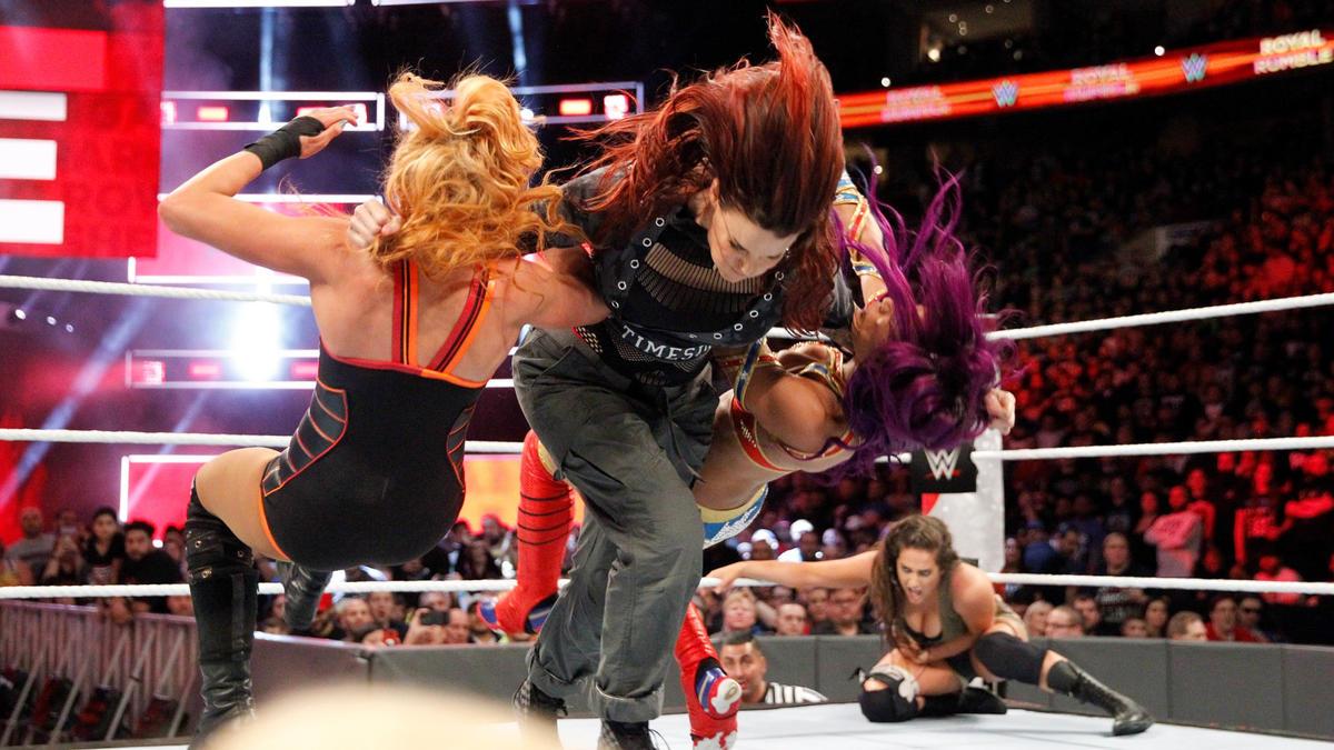 """Resultado de imagen de women royal rumble match"""""""