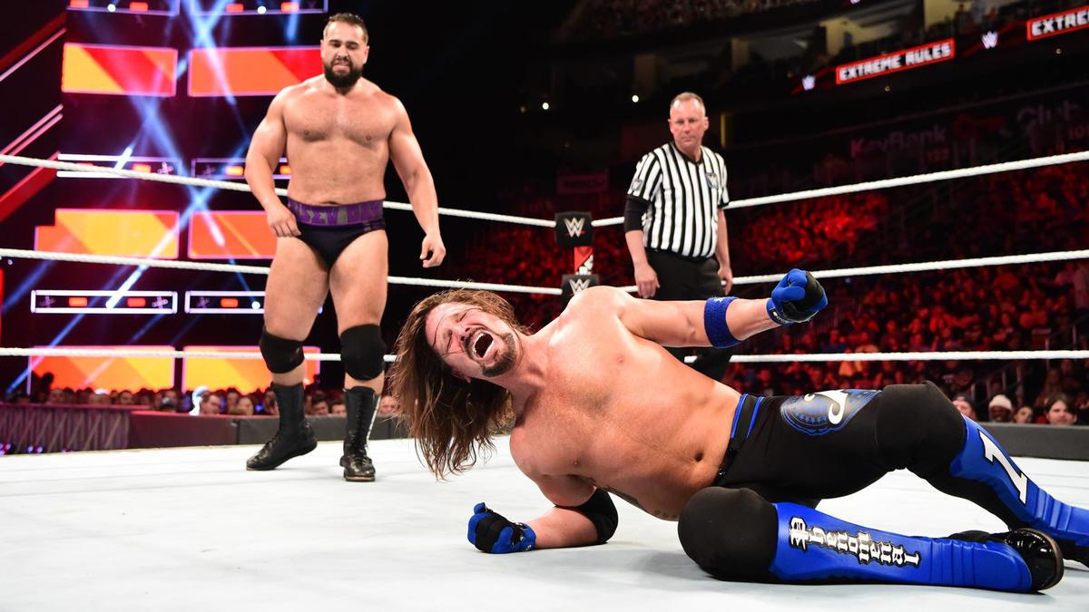 AJ Styles vs. Rusev - Campeonato WWE: fotos | WWE