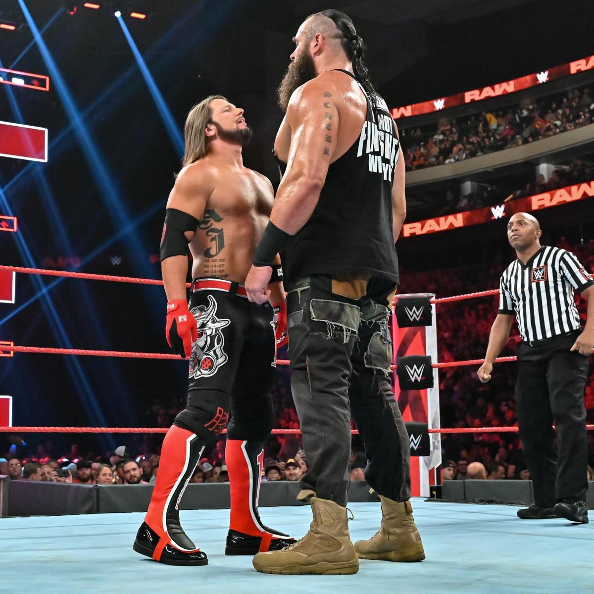 AJ Styles vs. Braun Strowman – Campeonato Estadounidense: fotos | WWE