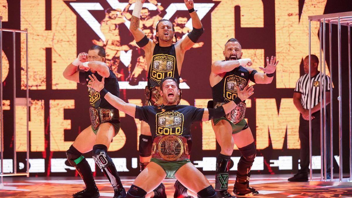 Team Ciampa vs. Undisputed ERA – Juegos de Guerra: fotos   WWE