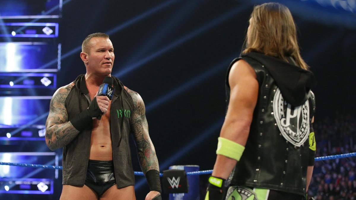 Resultado de imagen para aj styles Orton march 2019