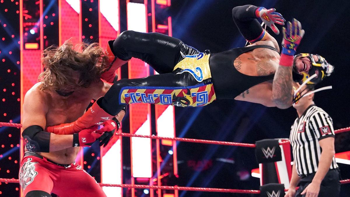 Resultado de imagen para AJ styles mysterio USA