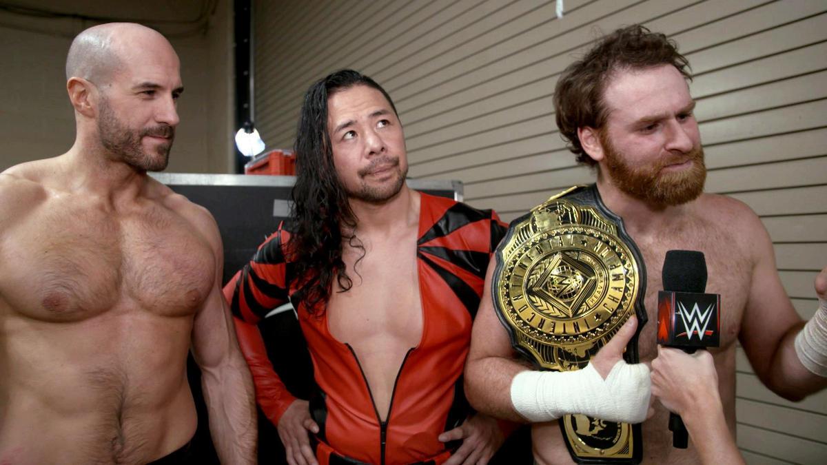 El Campeón Intercontinental Sami Zayn dice que su victoria es para ...