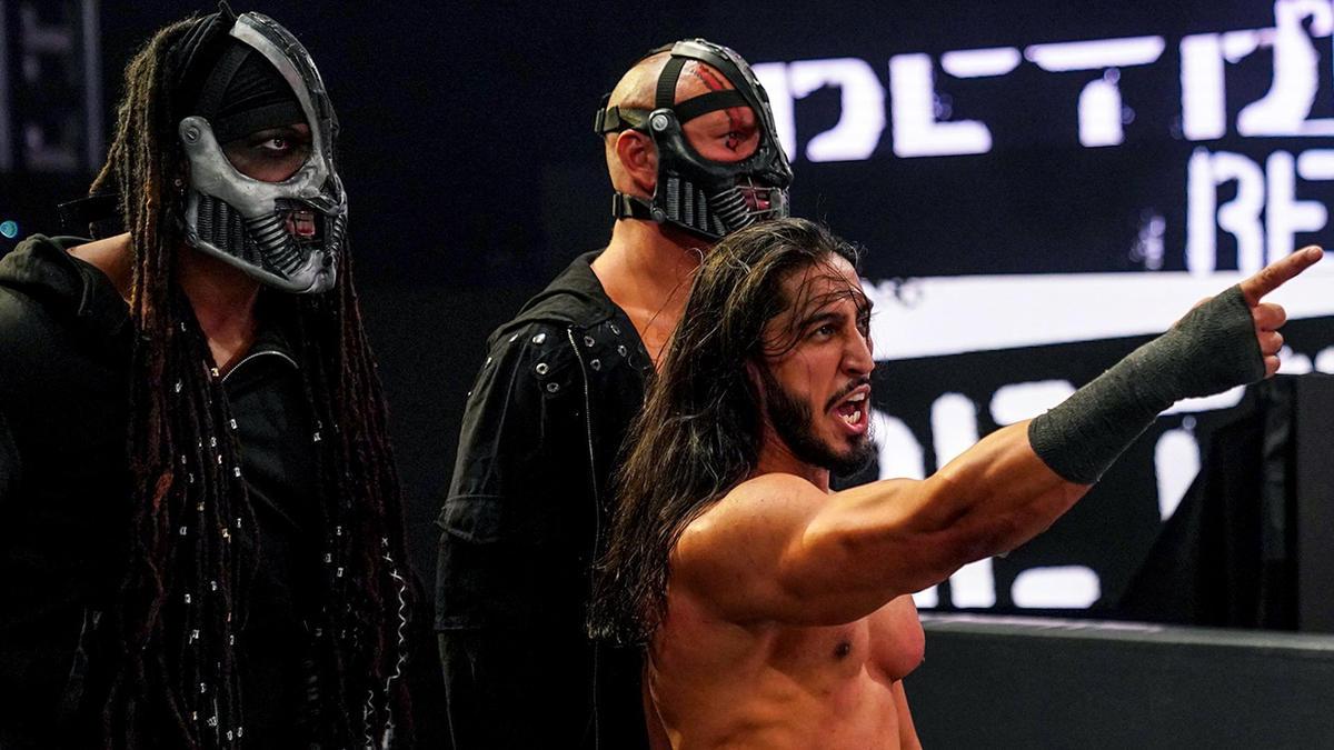 Mustafa Ali desvela que es el líder de RETRIBUTION   WWE