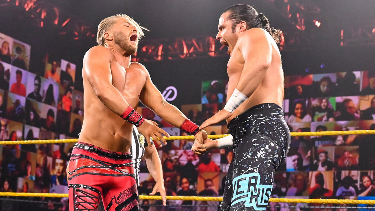 Killian Dain & Drake Maverick vs. Ever-Rise: WWE NXT, Oct. 7, 2020 | WWE