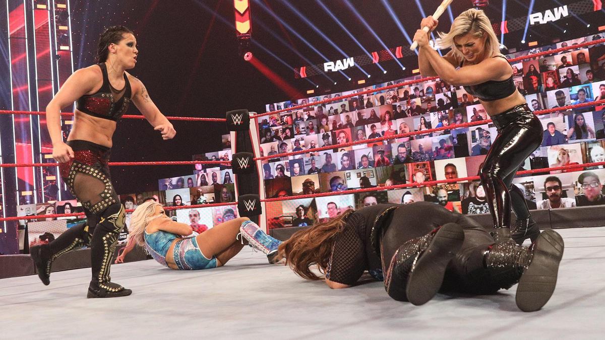 Dana Brooke vs. Shayna Baszler: Raw, Dec. 14, 2020 | WWE