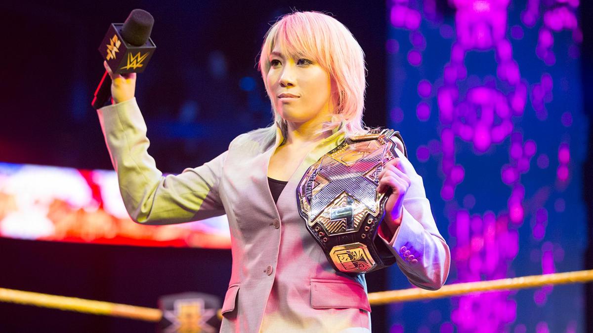 Asuka renuncia al Título Femenil NXT | WWE