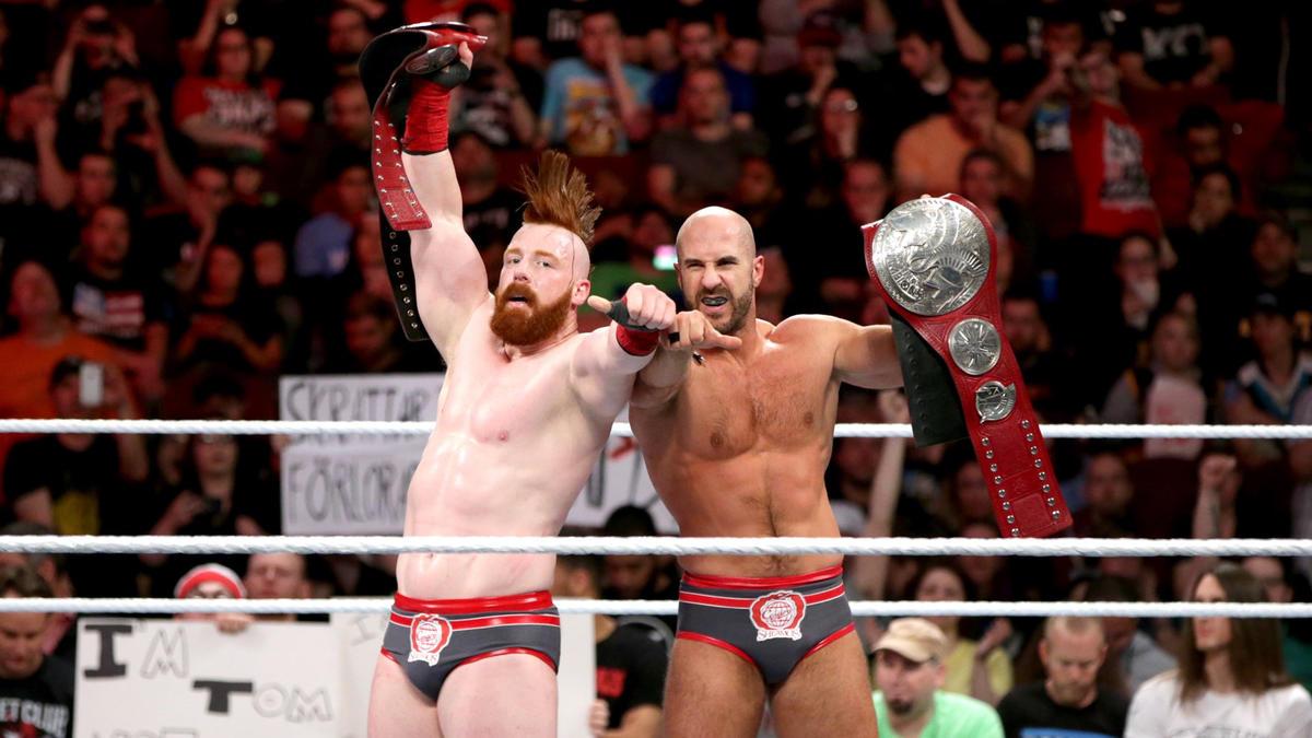Sheamus & Cesaro der. Campeones de Parejas de Raw Seth Rollins ...