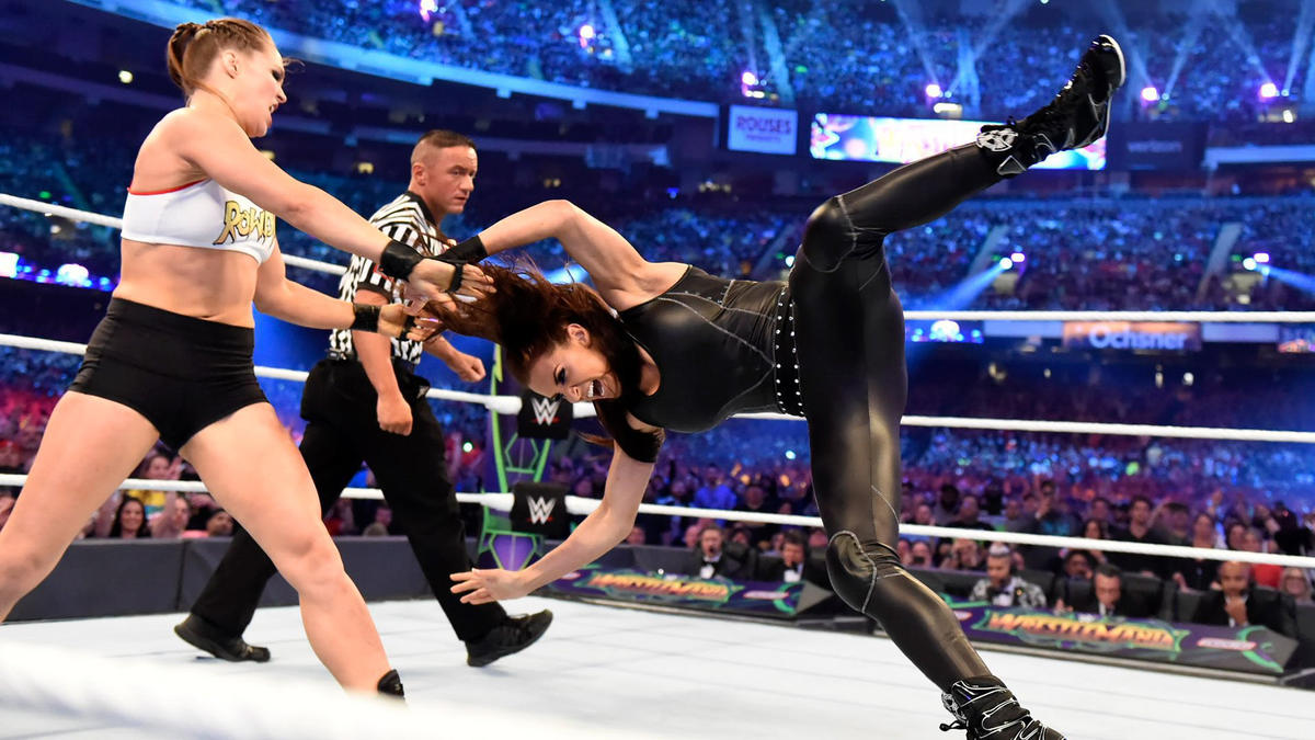 Ronda Rousey Vs Stephanie McMahon Is WWE Aim For