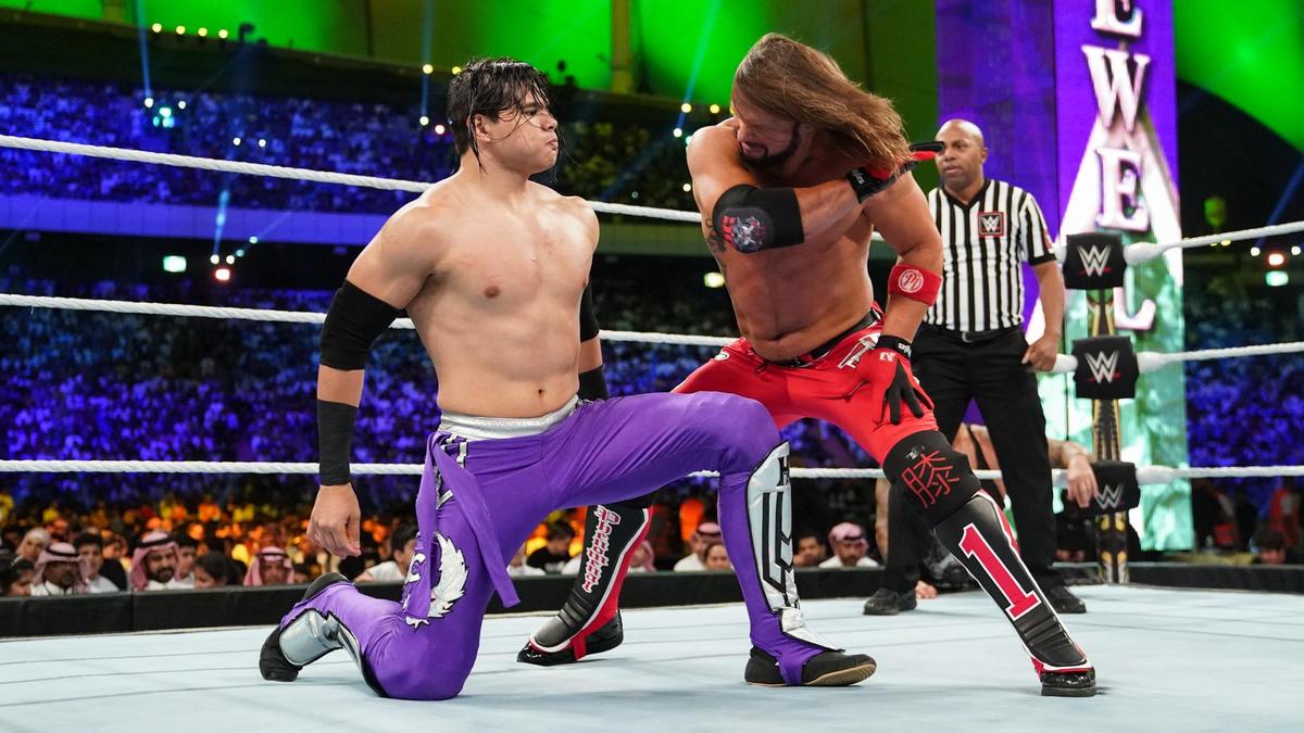 AJ Styles vs. Humberto Carrillo – Campeonato Estadounidense: fotos   WWE