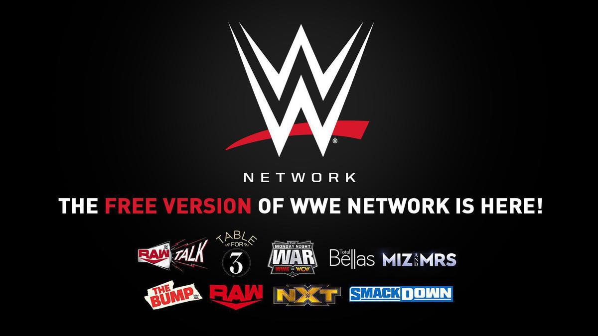 WWE presenta versión gratuita de WWE Network | WWE