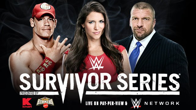Team Cena vs. Team Authority at Survivor Series